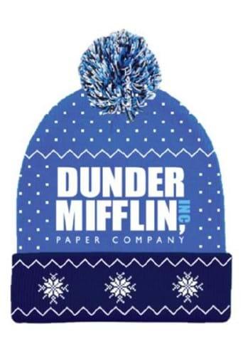 Adult Dunder Mifflin Pom Pom Beanie