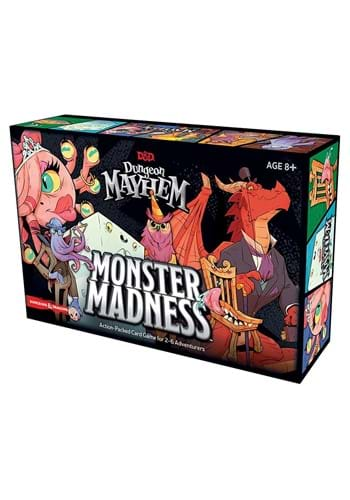 Dungeons and Dragons Dungeon Mayhem Monster Madness