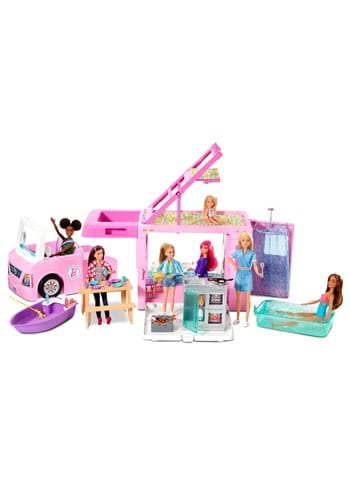 Barbie 3 in 1 Dreamcamper Vehicle and Accessories