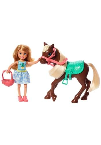 Barbie Club Chelsea Doll and Pony