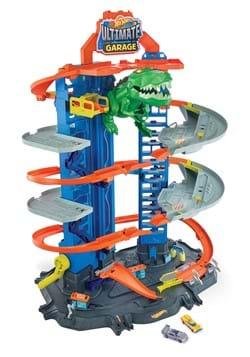 Hot Wheels Ultimate Garage Robo T Rex Playset