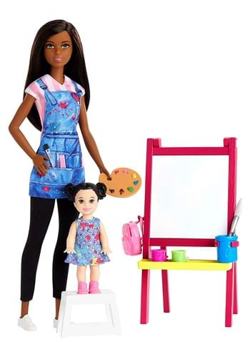 Barbie I Can Be Anything Doll Art Teacher and Playset