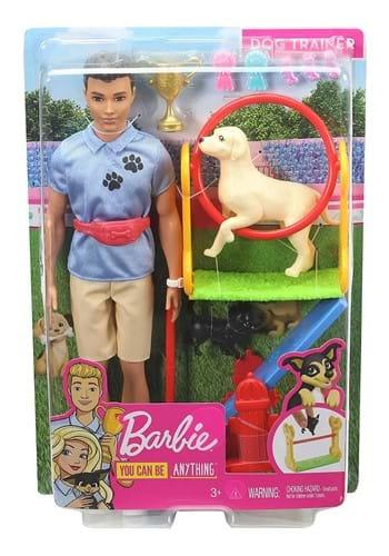 Barbie Ken Dog Trainer Doll