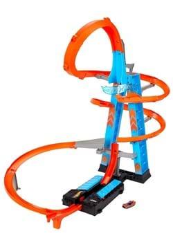 Hot Wheels Sky Crash Tower Track Playset