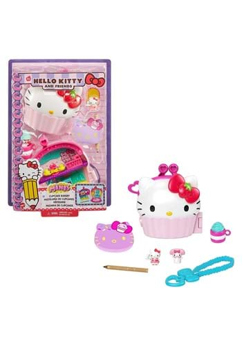 Hello Kitty Friends Compact Cupcake Playset