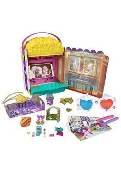 Polly Pocket Un Box It Popcorn Box Playset