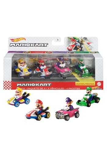 Hot Wheels Mario Kart Die Cast 4 Pack 1 UPD