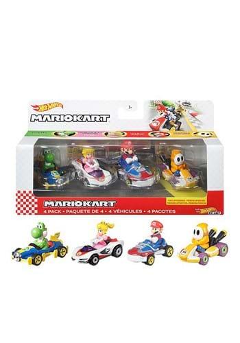 Hot Wheels Mario Kart Die Cast 4 Pack 2