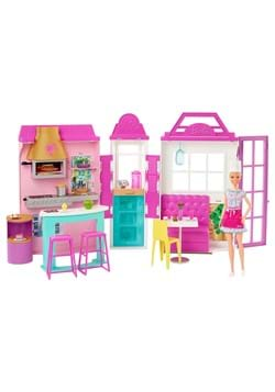 Barbie Restaurant with Doll Playset