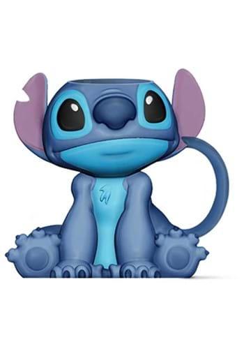 Stitch Sitting 3D Mug