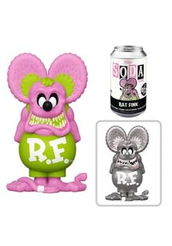 Funko Vinyl SODA Rat Fink Neon Rat Fink