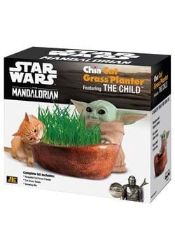 Chia Cat Grass Planter - Mandalorian The Child Gro
