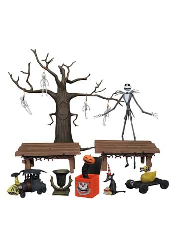 Nightmare Before Christmas Deluxe Action Figure Box Set