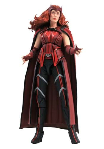 Marvel Select WandaVision Scarlet Witch Action Fig