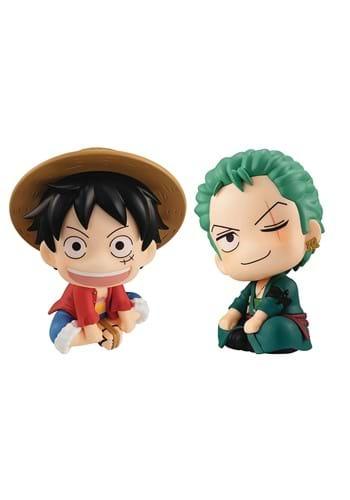 One Piece Luffy and Zoro Figure Set