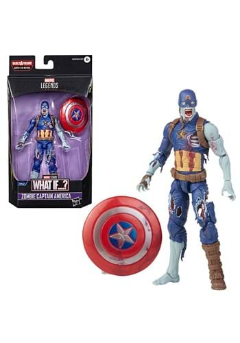 Marvel Legends What If Zombie Captain America Figure