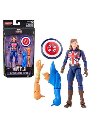 Marvel Legends What If Captain Carter 6 Inch Action Figure