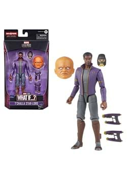 Marvel Legends What If TChalla Star Lord Action Figure
