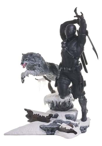 Diamond Select GI JOE Gallery Snake Eyes PVC Statue