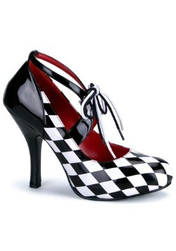 Womens Sexy Harlequin Shoes