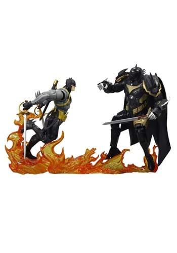 DC Collector White Knight Batman vs. Azbat 7-In Figure 2-Pac