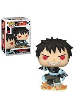 POP Animation Fire Force Shinra with Fire
