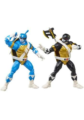 Power Rangers X Teenage Mutant Ninja Turtles Action Figures