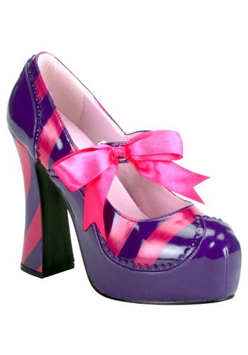 Women's Sexy Cheshire Cat Costume Shoes
