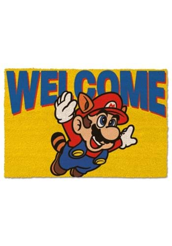 SUPER MARIO WELCOME DOORMAT
