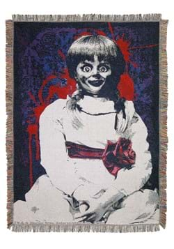 Anabelle Red Bow Tapestry Throw