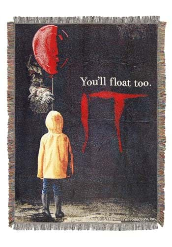 IT-We All Float Tapestry Throw
