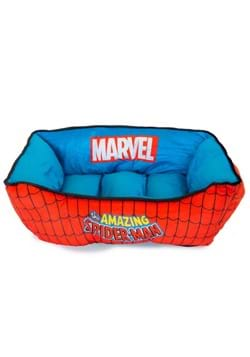 MARVEL SPIDER-MAN BLUE AND RED PET BED