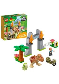 LEGO 10939 Jurassic World T. Rex and Triceratops D
