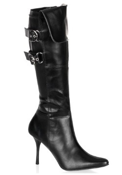 Women's Sexy Black Costume Boots