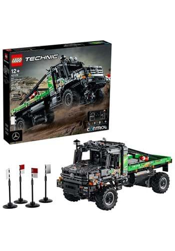 LEGO Technic 4 4 Mercedes Benz Zetros Trial
