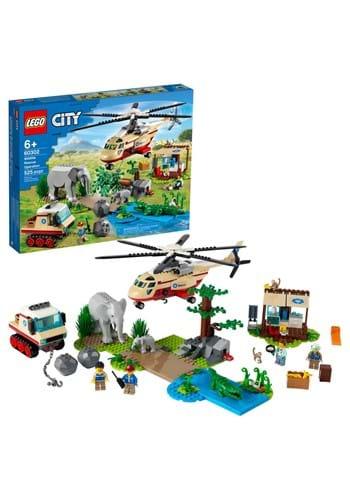LEGO City Wildlife Rescue Operation Building Set