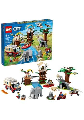 LEGO 60307 City Wildlife Rescue Camp