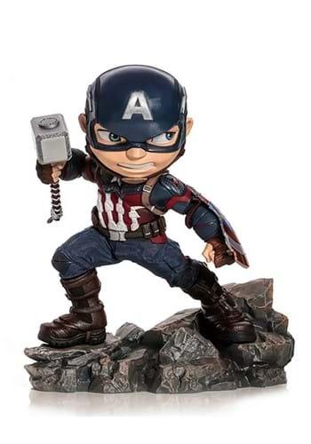 Avengers: Endgame Captain America MiniCo Statue