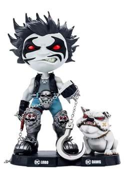 Lobo and Dawg MiniCo Statue
