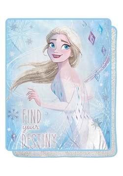 "Frozen Magical Destiny 40""x50"" Sherpa Blanket"