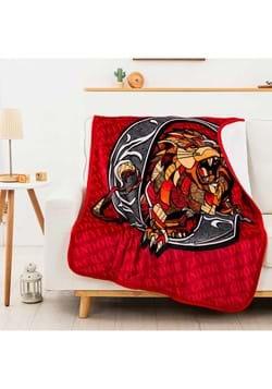 Harry Potter Roar For Gryffindor Sherpa Blanket