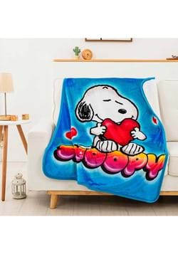 Peanuts Snoopy Silk Touch Sherpa Throw