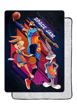 "Space Jam 2 Jumpshot 60""x80"" Sherpa Throw"