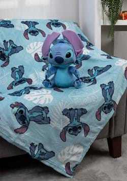Lilo & Stitch Throw Blanket and Pillow