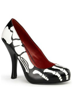 X-Ray Skeleton High Heels