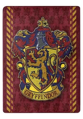 "Harry Potter Crimson Sigil 46""x60"" Silk Touch Thro"