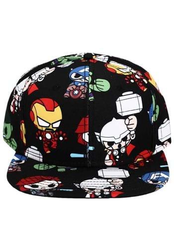 Marvel Chibi Avengers Flat Bill Snapback