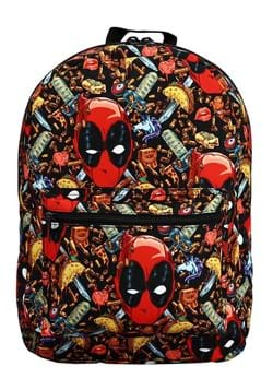 Marvel Deadpool Junk Food Backpack