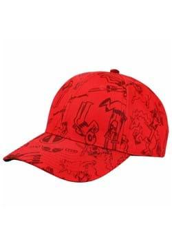 Deadpool Sketches Dad Hat