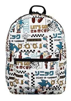 Sonic Let's Go Backpack